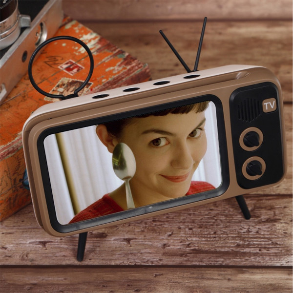 Retro TV Smartphone Holder 5 - Sneapy