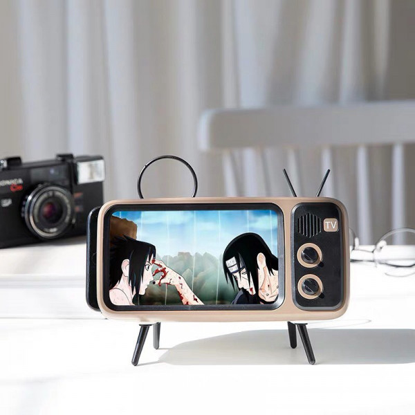 Retro TV Smartphone Holder 2 - Sneapy