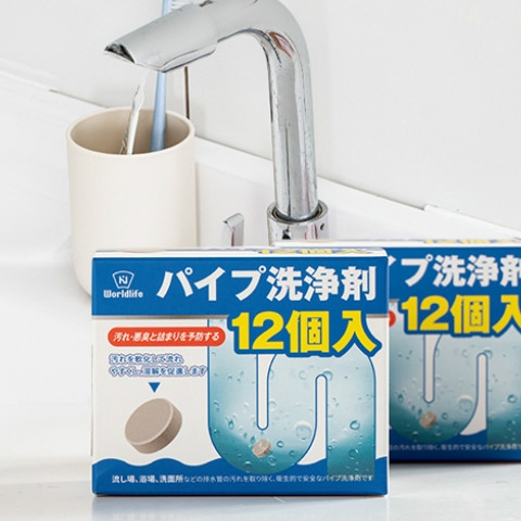Drain Cleaner Tablets 4 - Sneapy