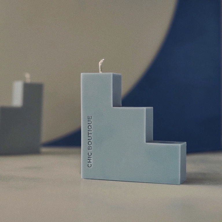 Blocks Candle 2 - Sneapy