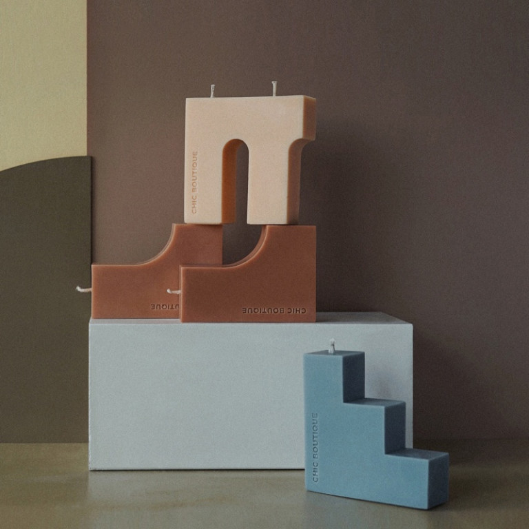 Blocks Candle 1 - Sneapy