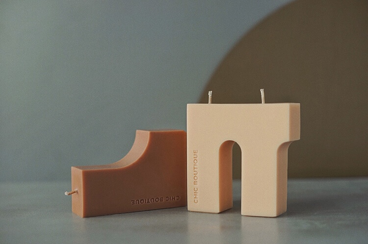 Blocks Candle 5 - Sneapy