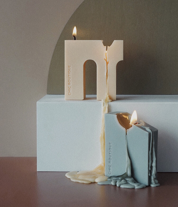 Blocks Candle 6 - Sneapy