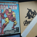 Marvel Comic Book Lamp photo review
