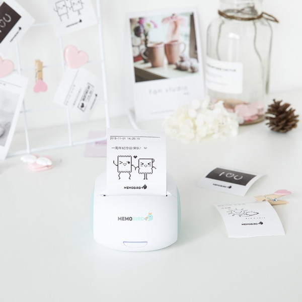 Memobird G2 Portable Printer 1 - Sneapy