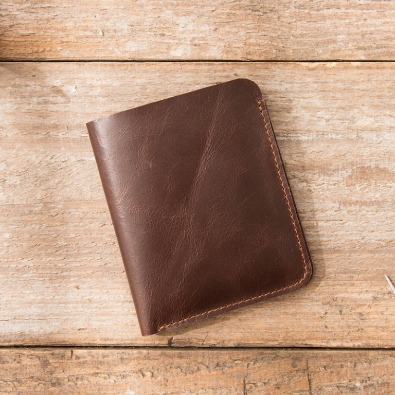 Leather Ultra Slim Wallet 1 - Sneapy