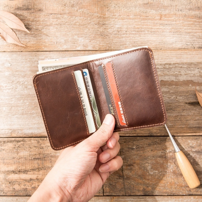 Leather Ultra Slim Wallet 3 - Sneapy