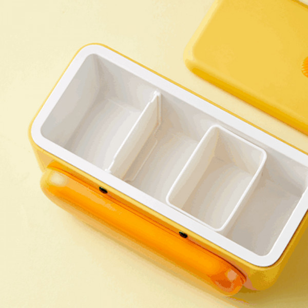 Cute Duck Self Heat Lunch Box 11 - Sneapy