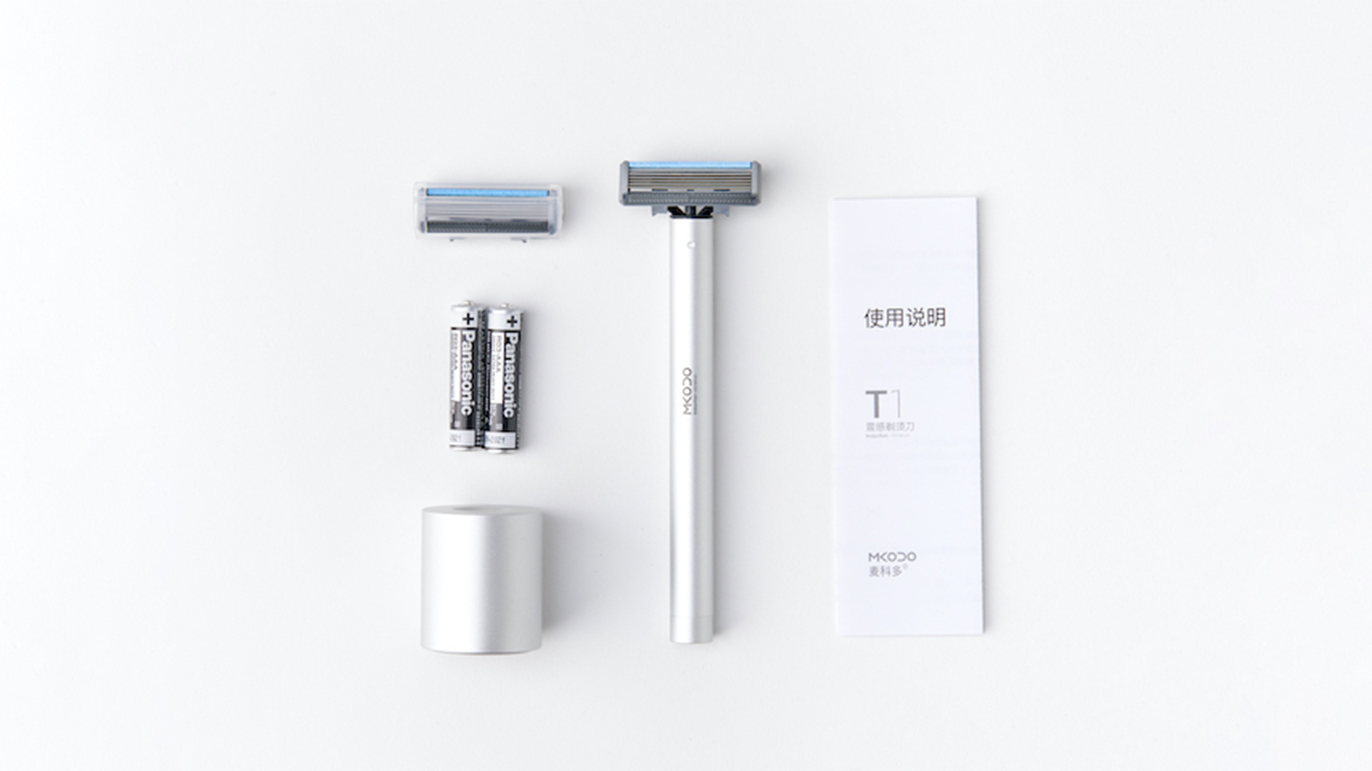 Manual & Electric 2-In-1 Shaver 37 - Sneapy