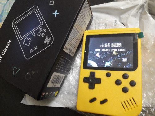 Retro FC Mini Gameboy photo review