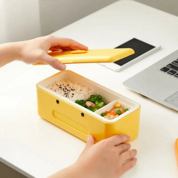 Cute Duck Self Heat Lunch Box 9 - Sneapy