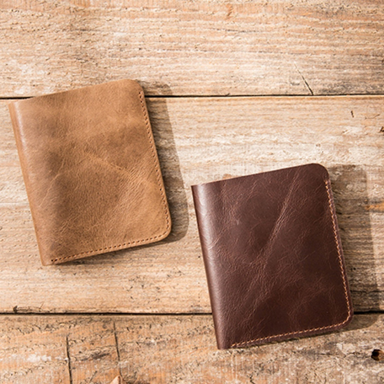 Leather Ultra Slim Wallet 5 - Sneapy