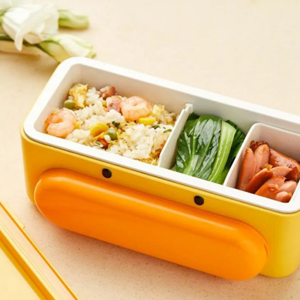 Cute Duck Self Heat Lunch Box 8 - Sneapy