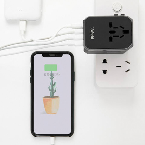 1-World Travel Adapter 4 - Sneapy