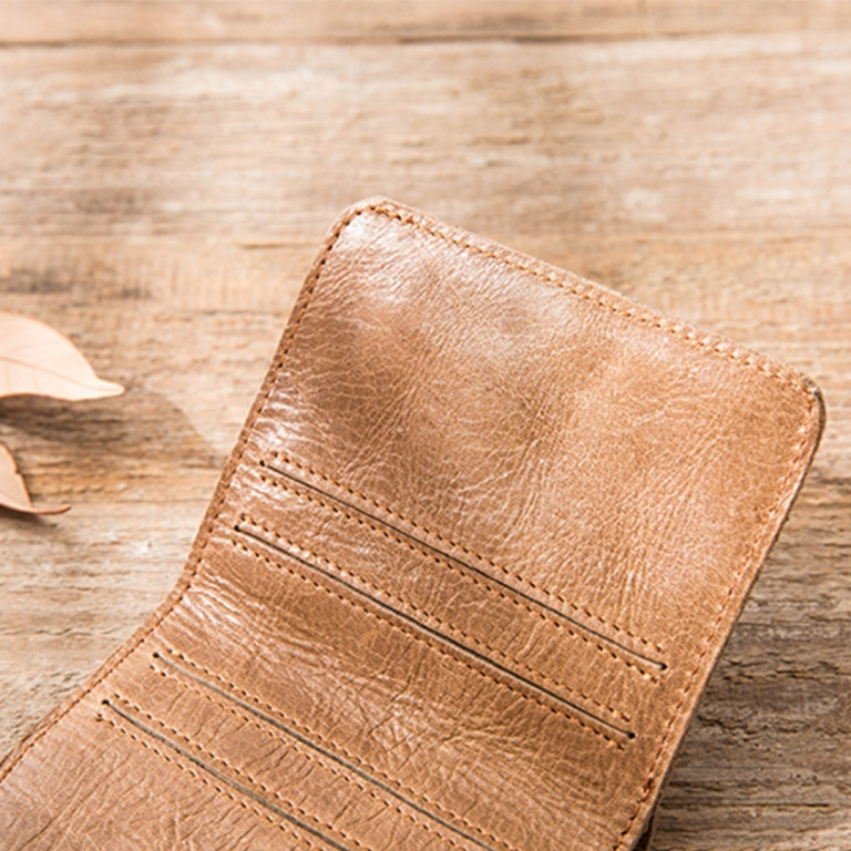 Leather Ultra Slim Wallet 10 - Sneapy