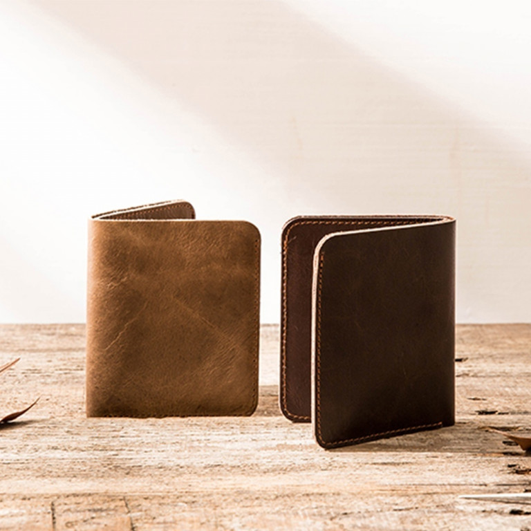 Leather Ultra Slim Wallet 6 - Sneapy