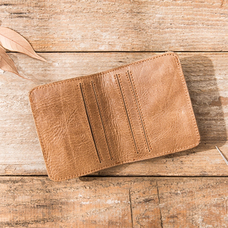 Leather Ultra Slim Wallet 8 - Sneapy