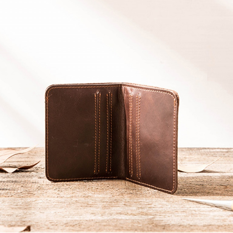Leather Ultra Slim Wallet 7 - Sneapy